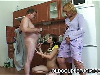teeny depraved by cougar couple