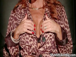 giant boobed red-haired awesome beautiful shape
