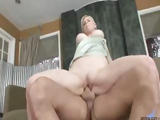 busty albino lady takes pierced hard in her