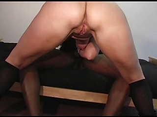 cougar white loves black penis