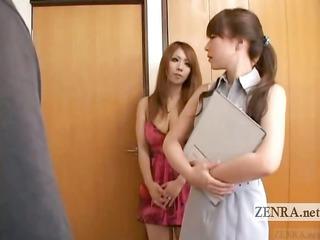 subtitled cfnm japanese gyaru amateur girl chick