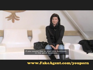 fakeagent awesome cougar babe needs cock.