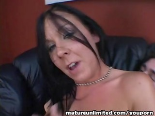 milf is gangbanging on the top......open aperture