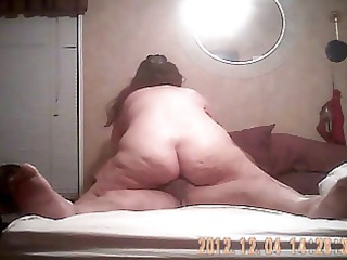 bbw slut drives penis