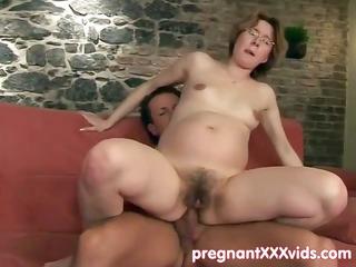 expecting slut pierced