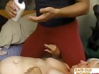 heavy grown-up fucks the massage male