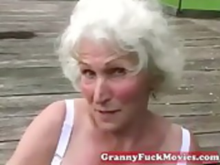 check out these filthy grandma