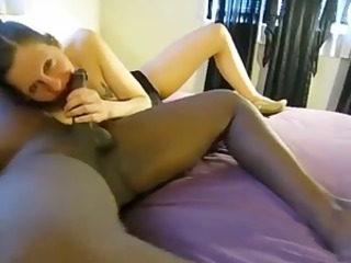 cuckold eats sperm from wifes bbc bull