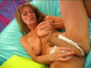 cougar hirsute vagina being shown when she