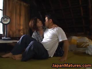 chisato shouda charming cougar asian babe part1