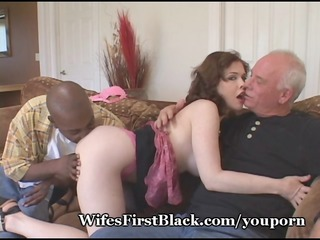 wifes cave shooting brown cum out
