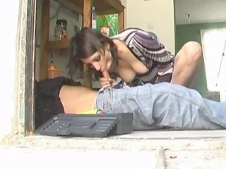 mexican mother id enjoy to pierce with the plumber