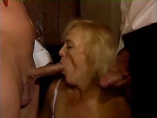 german elderly mature twice penetration