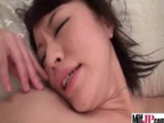 naughty sweet asian mature babe get drilled
