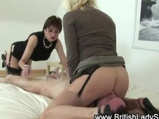 older stockings femdom whores take turns
