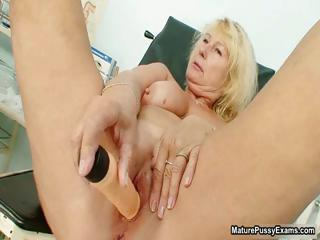 naughty grown-up lady takes an orgasm from part2