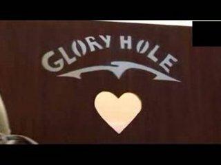 elderly glory hole