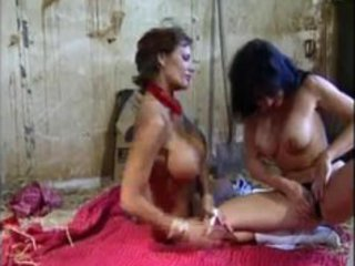 two natural huge boobed cowgirl girl in dike deed