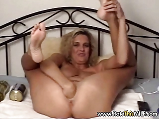 british milf with giant dildo