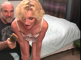 slinky golden-haired mother id enjoy to drill