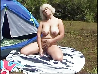 camping horny mother