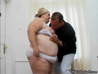 bbw older woman worships sucking big part2