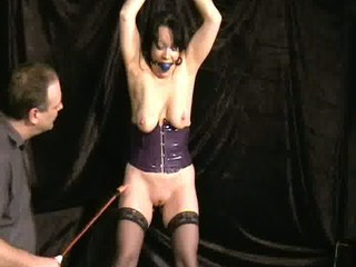 brutal beat of older slavegirl