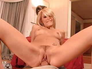 hot blond milf gets roughly nailed