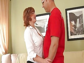 horny elderly redhaired needs a fuc...
