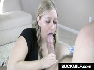 mother and daughter obtains turns chomping on his