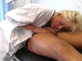 desperate blond older chick nurse pounded hard