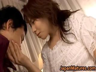 older japanese angel gets fingered