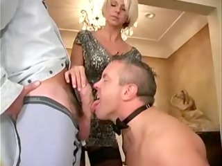 spousethrall is engulfing a fucker of his woman