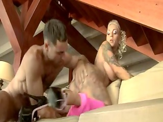 hawt golden-haired tattooed mother id enjoy to